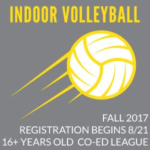 Indoor Coed Volleyball Fall 2017