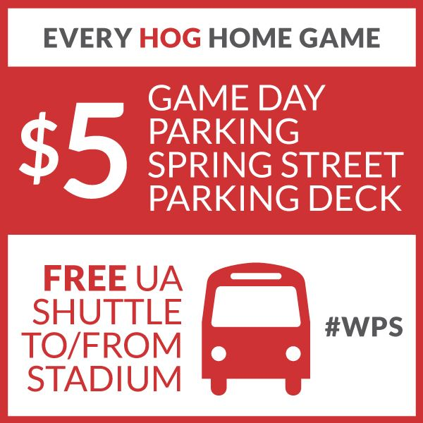 Game Day Parking and Shuttle 2017