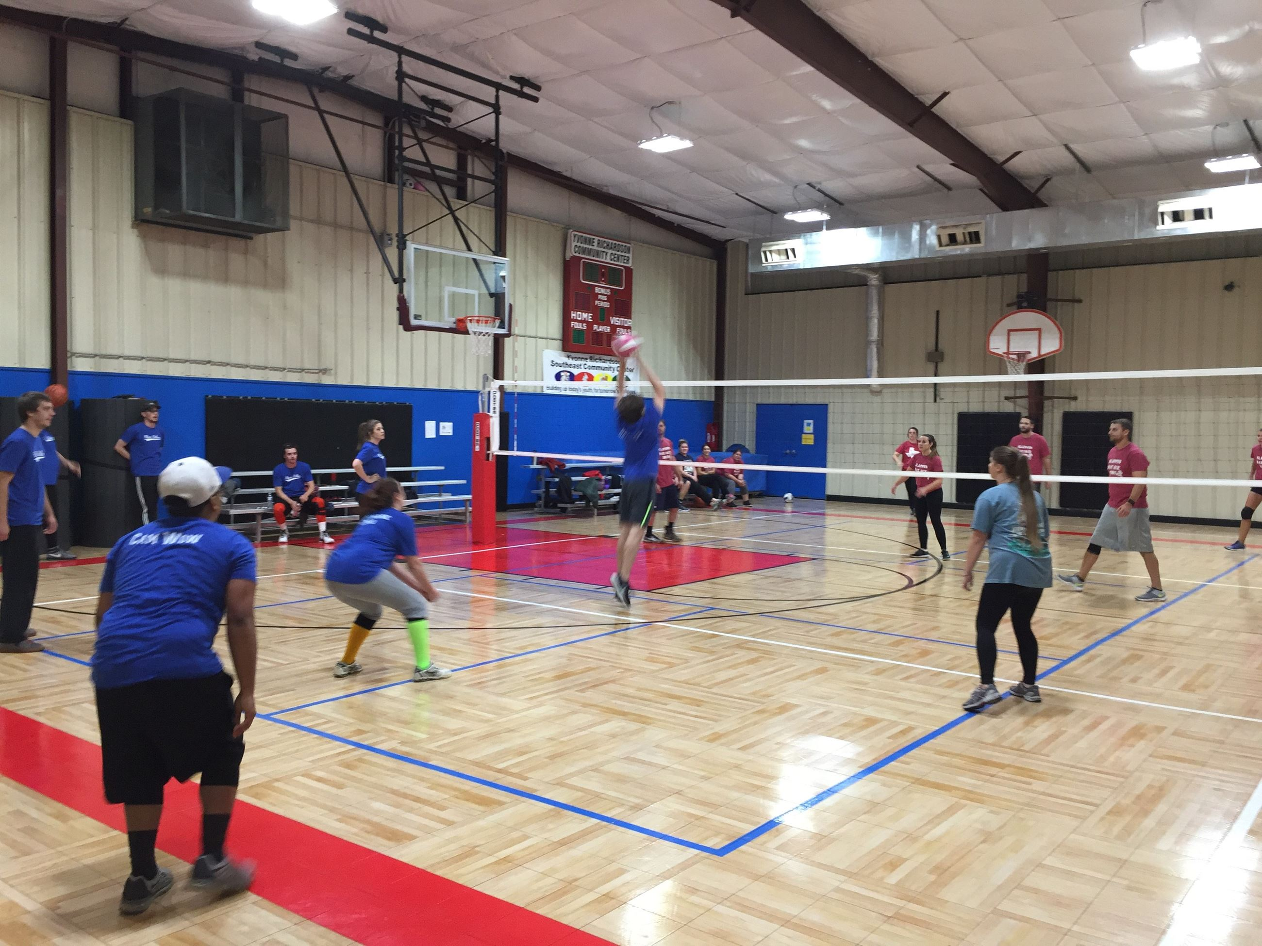 Adult Co-Ed Indoor Volleyball | Fayetteville, AR - Official Website