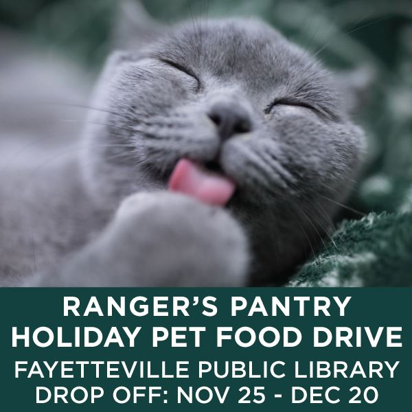 2017 Rangers Pantry Holiday Pet Food Drive