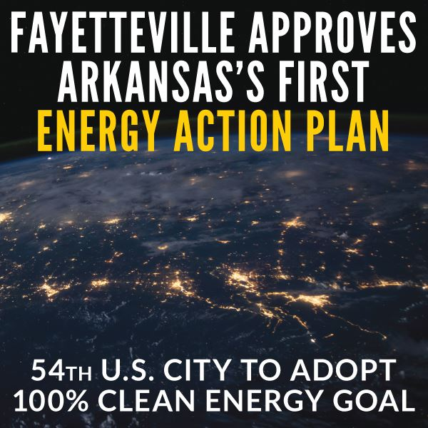 Fayetteville Adopts Energy Action Plan