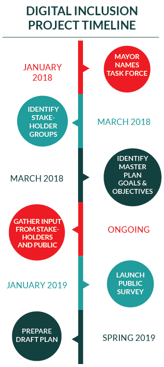 Digital Inclusion Project Timeline
