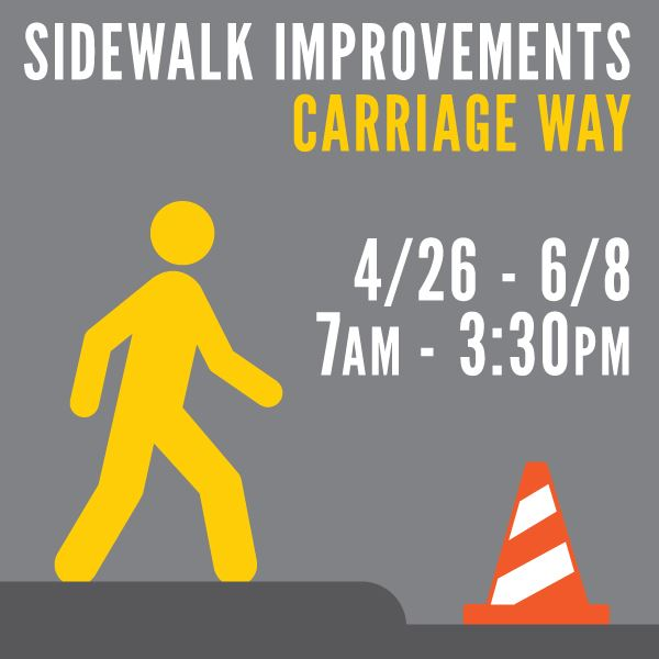 Carriage Way Sidewalk Improvements