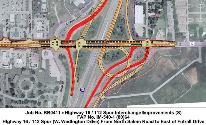 Interstate 49/Wedington Drive Utility Relocations