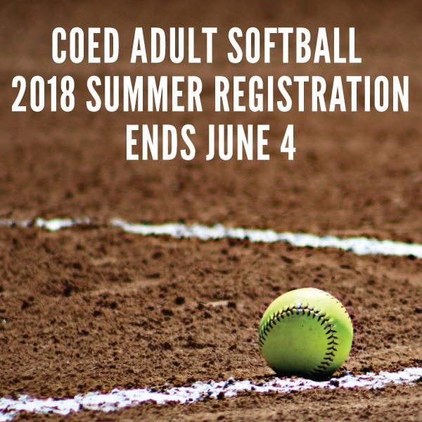 2018 Summer Softball Registration