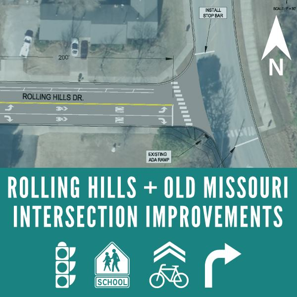 Rolling Hills and Old-Missouri Intersection Improvements