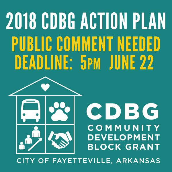 CDBG Public Comment for 2018 Action Plan
