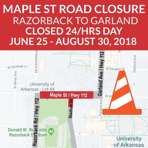Maple St Closure