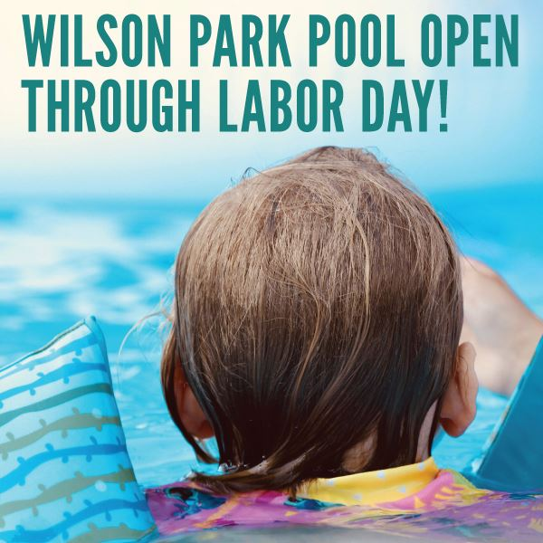 Pool Open through Labor Day