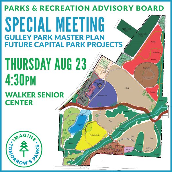 Special Parks and Recreation Advisiory Board Meeting
