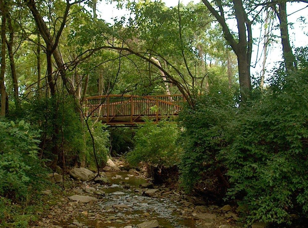 Cleveland Bridge - Scull Creek Trail
