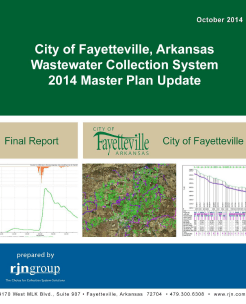 2014 Wastewater Collection System Master Plan Update