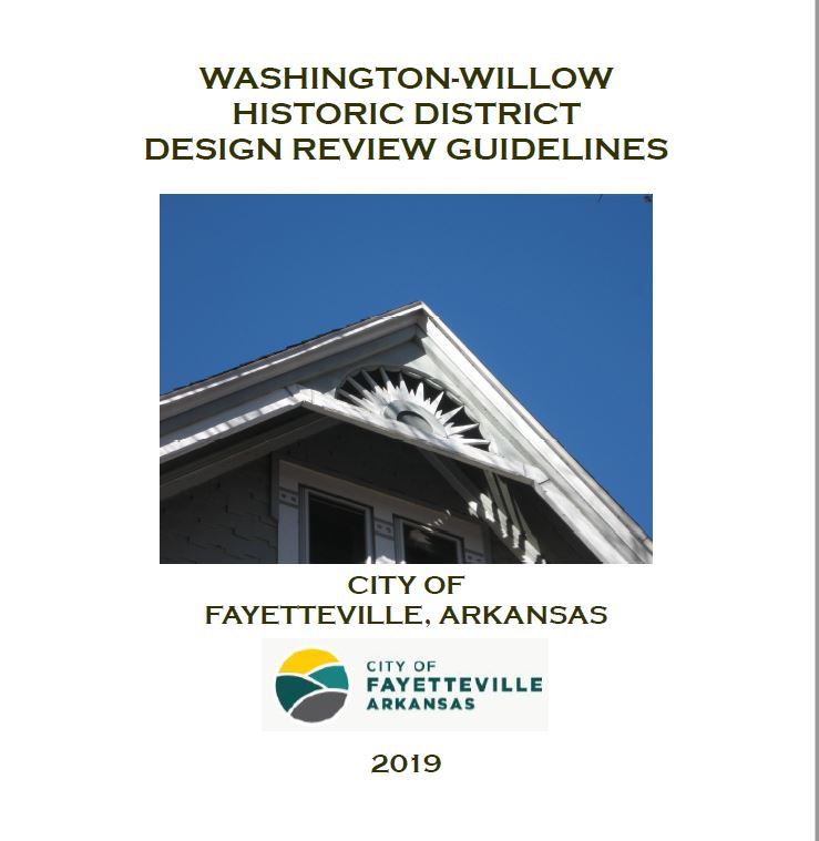 Washington-Willow Design Standards