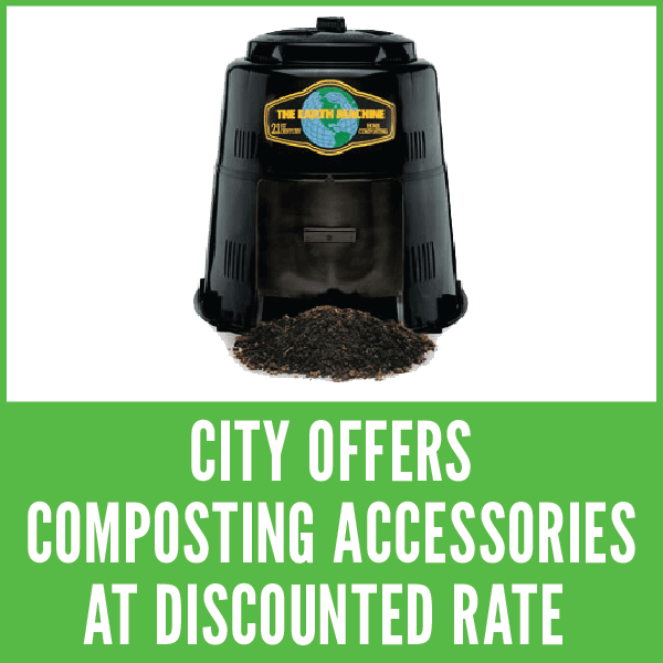 City Offers Composting Accessories At Discounted Rate