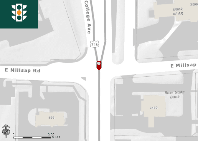 College Millsap Intersection