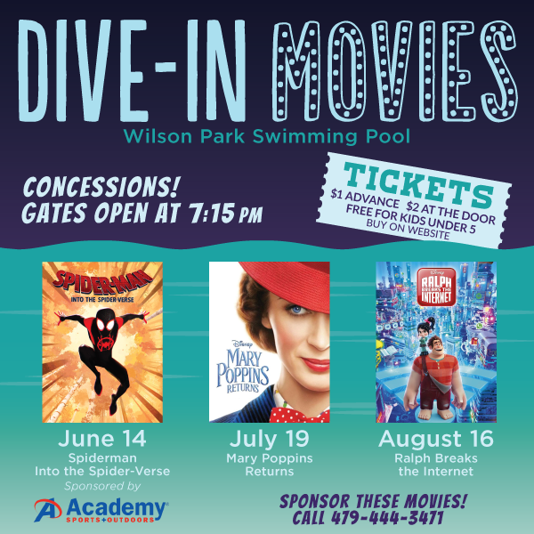 Dive-In Movies at the Pool Are Back