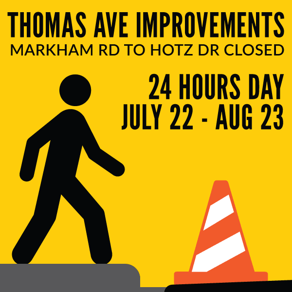 Thomas Ave Improvements