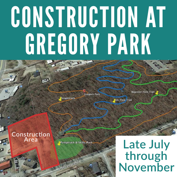 Construction At Gregory Park