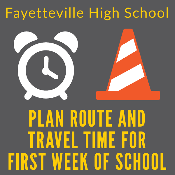 Plan Route and Travel Time for First Week of School