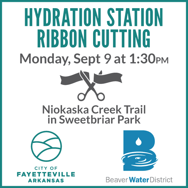 Hydration Station Ribbon Cutting