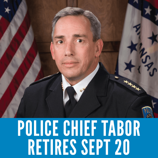 Police Chief Tabor Retires