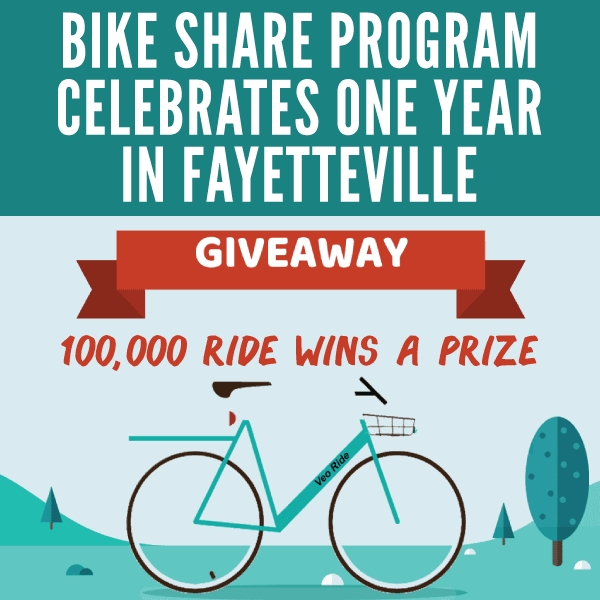 Bike Share Celebrates One Year In Fayetteville