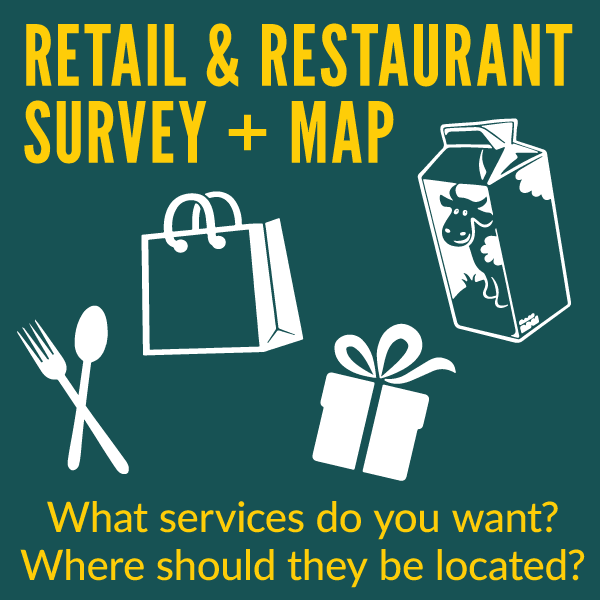 Retail And Restaurant Survey and Map