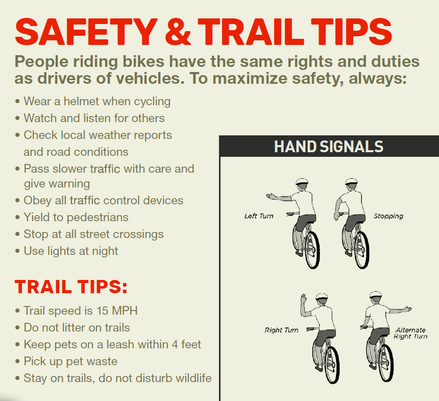 Safety and Trail Tips