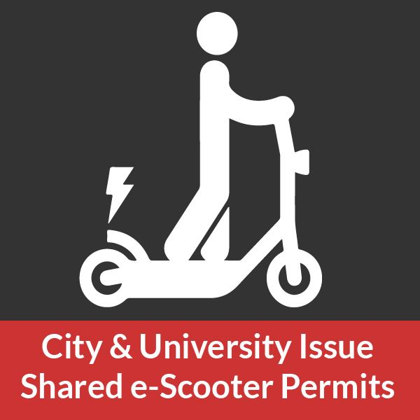City of Fayetteville and University of Arkansas issue eScooter permits