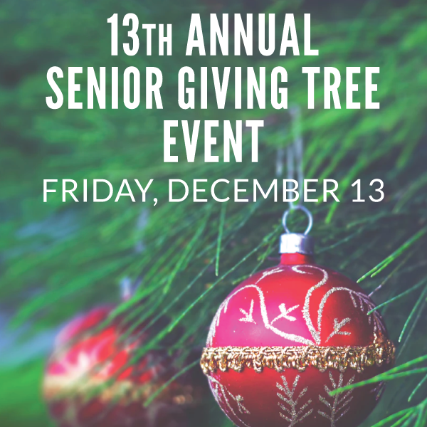 Senior Giving Tree Event