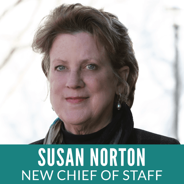 Susan Norton New Chief of Staff
