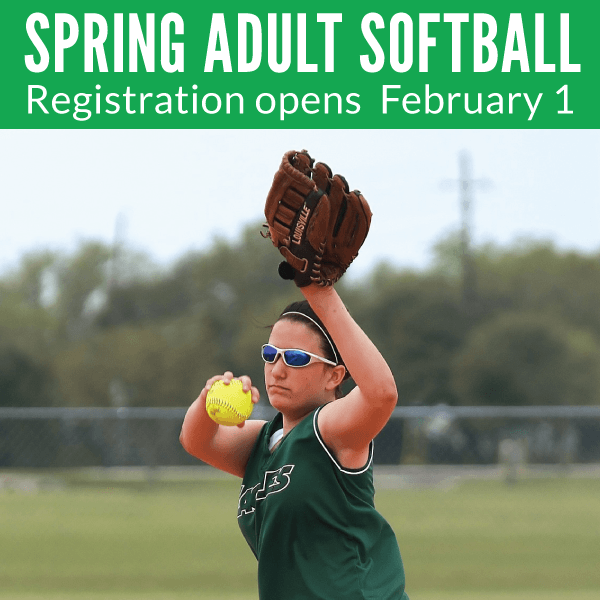 Spring Adult Softball Registration