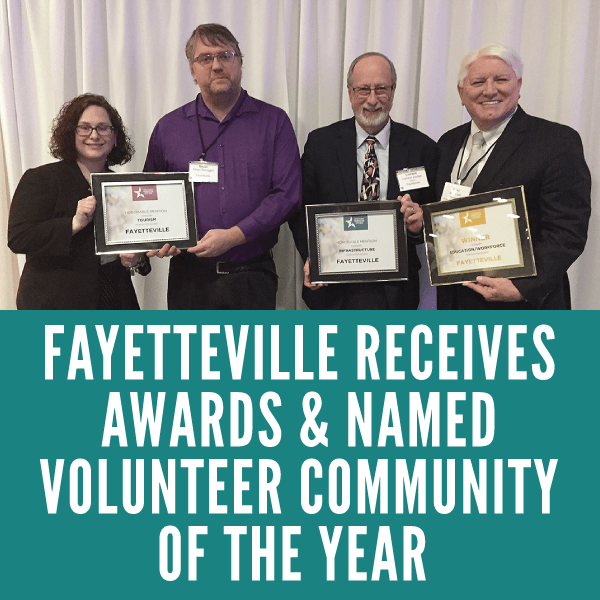 Fayetteville Receives Awards