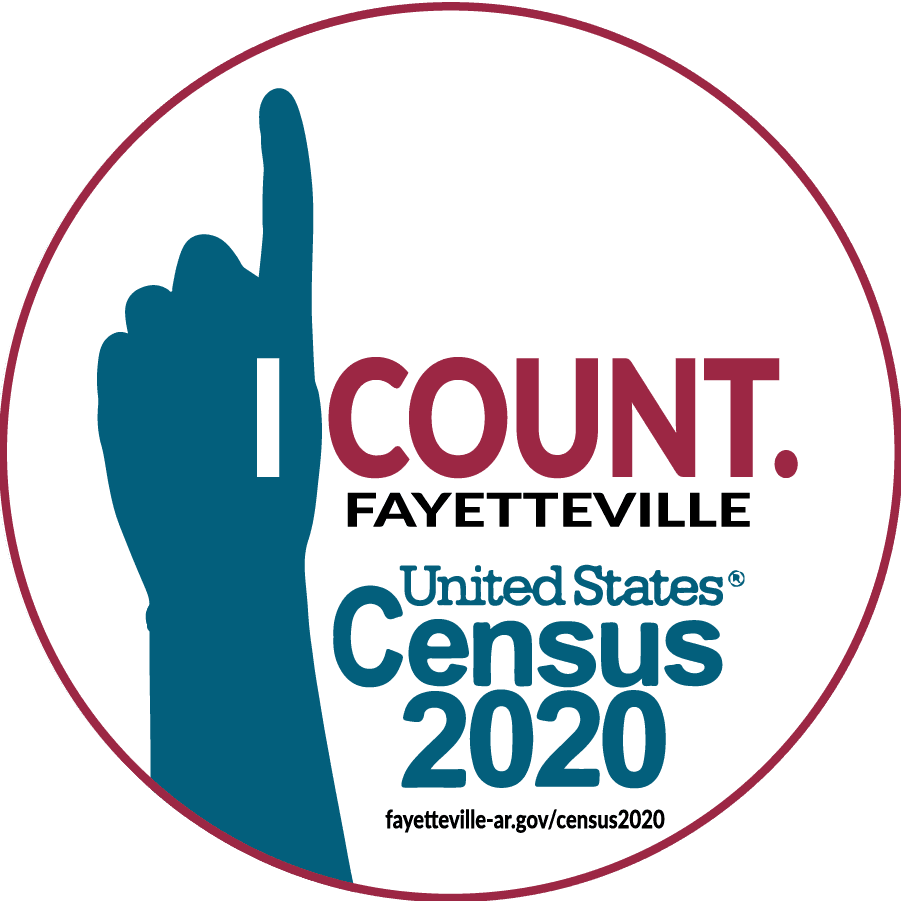 I Count! Fayetteville Arkansas, US Census 2020