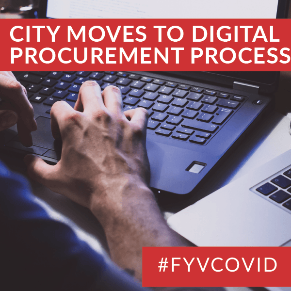 City  Moves to Digital Procurement Process