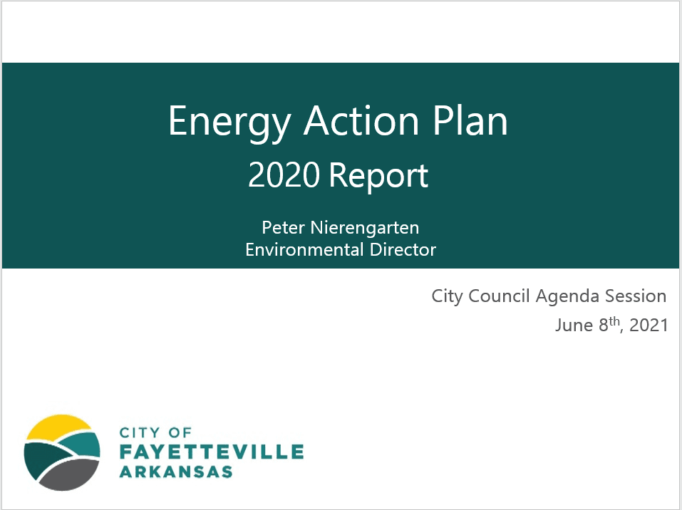 2019 Energy Action Plan Update