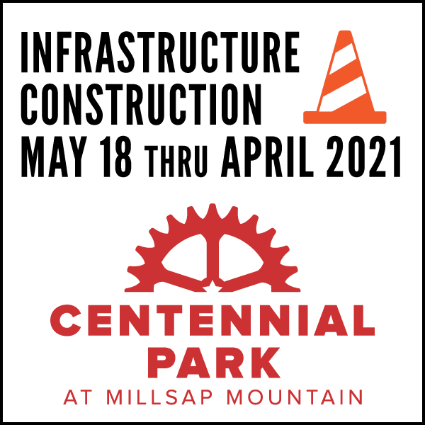 Infrastructure Construction begins at Centennial-Park