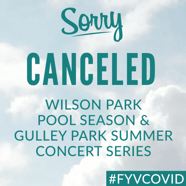 Pool and Concert Series Seasons Canceled
