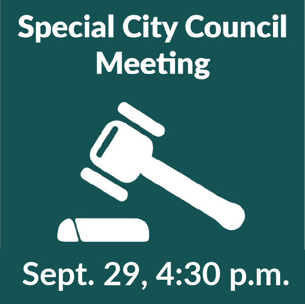 Special meeting Sept 29-01