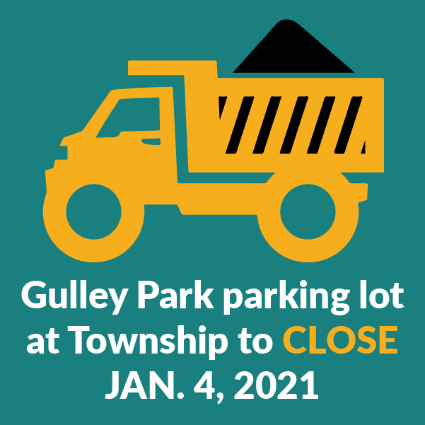 Gulley Park parking lot at Township to close Jan 4 for improvements