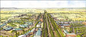 City Plan Rendering