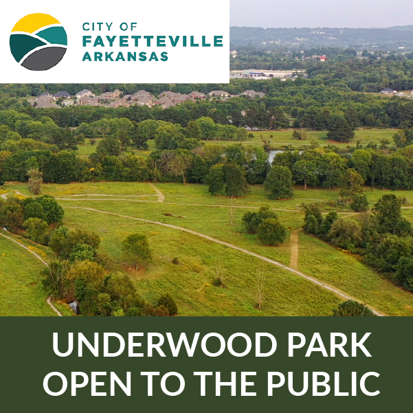 Underwood park open to the public