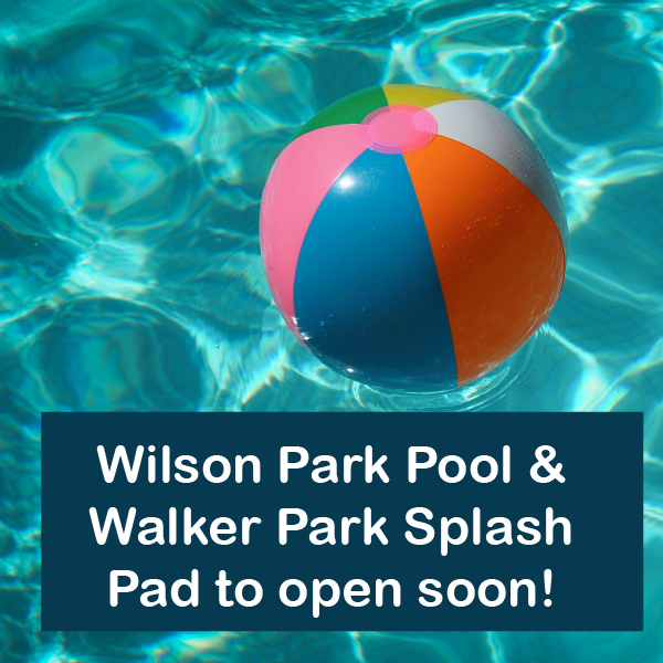 Wilson Park Pool and Walker Park Splashpad to reopen soon