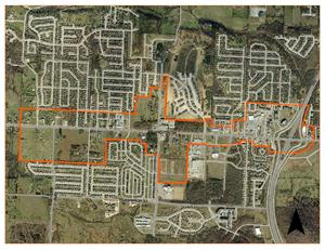 Wedington Plan Project Boundary