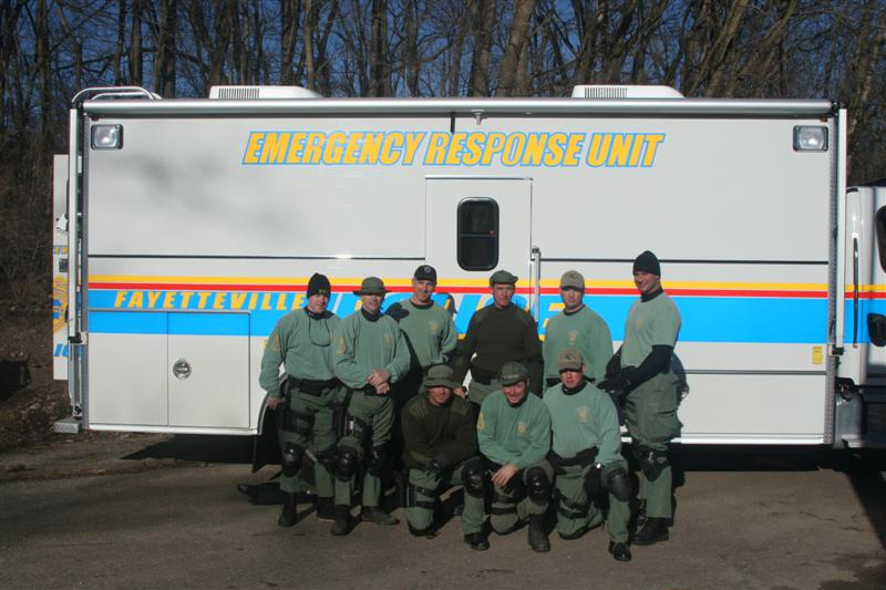 Emergency Response Team Group Photo