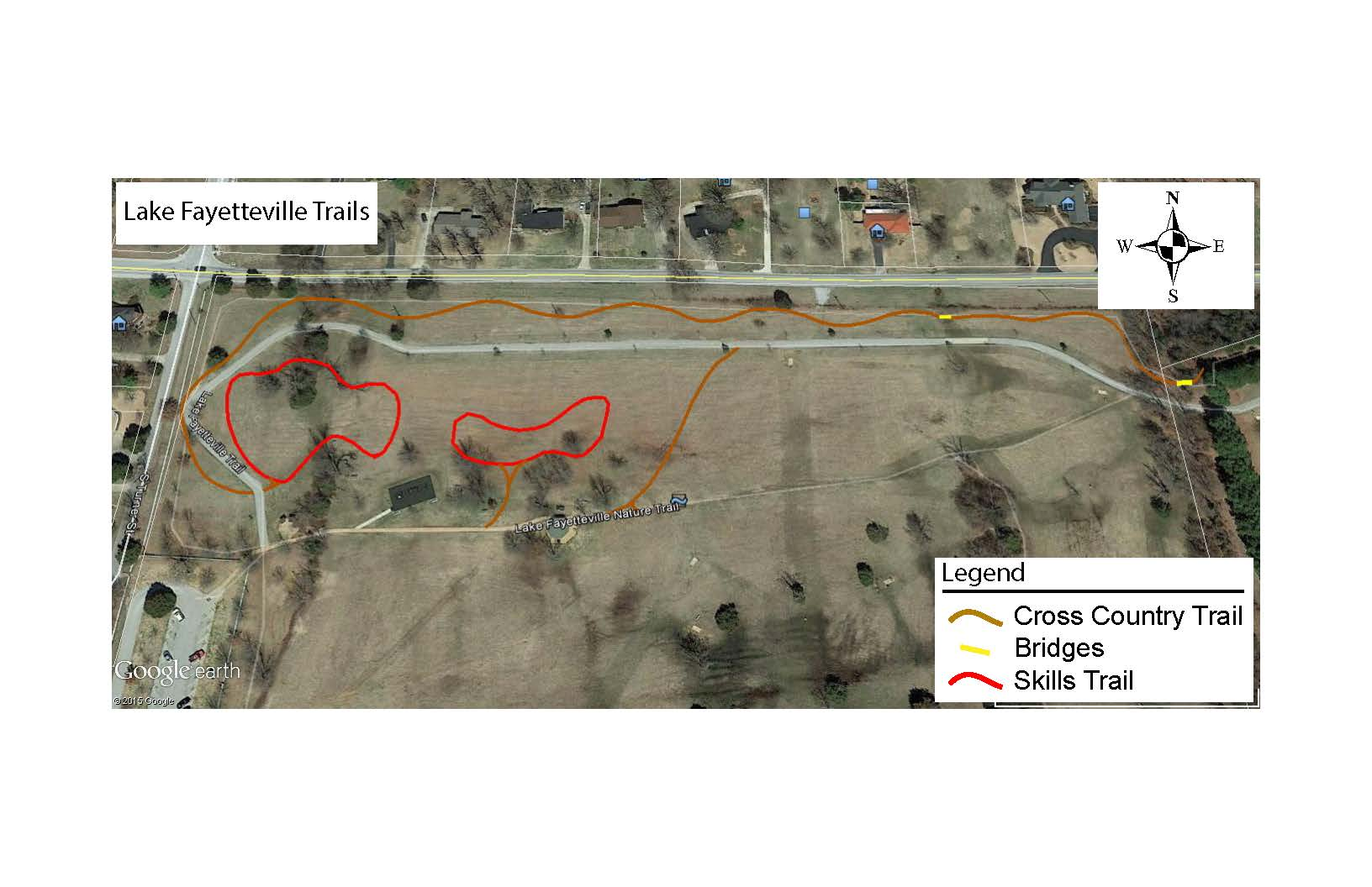Lake Fayetteville Trail Improvements