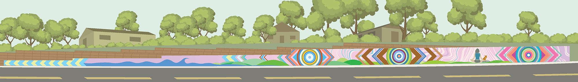 Matt Miller - College Ave. Mural Proposal