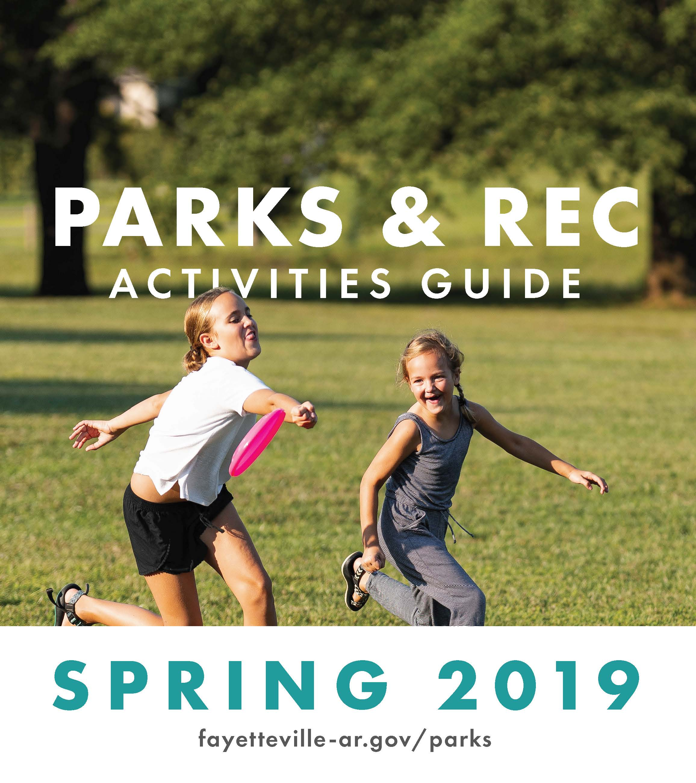2019 Spring Activities Guide cover
