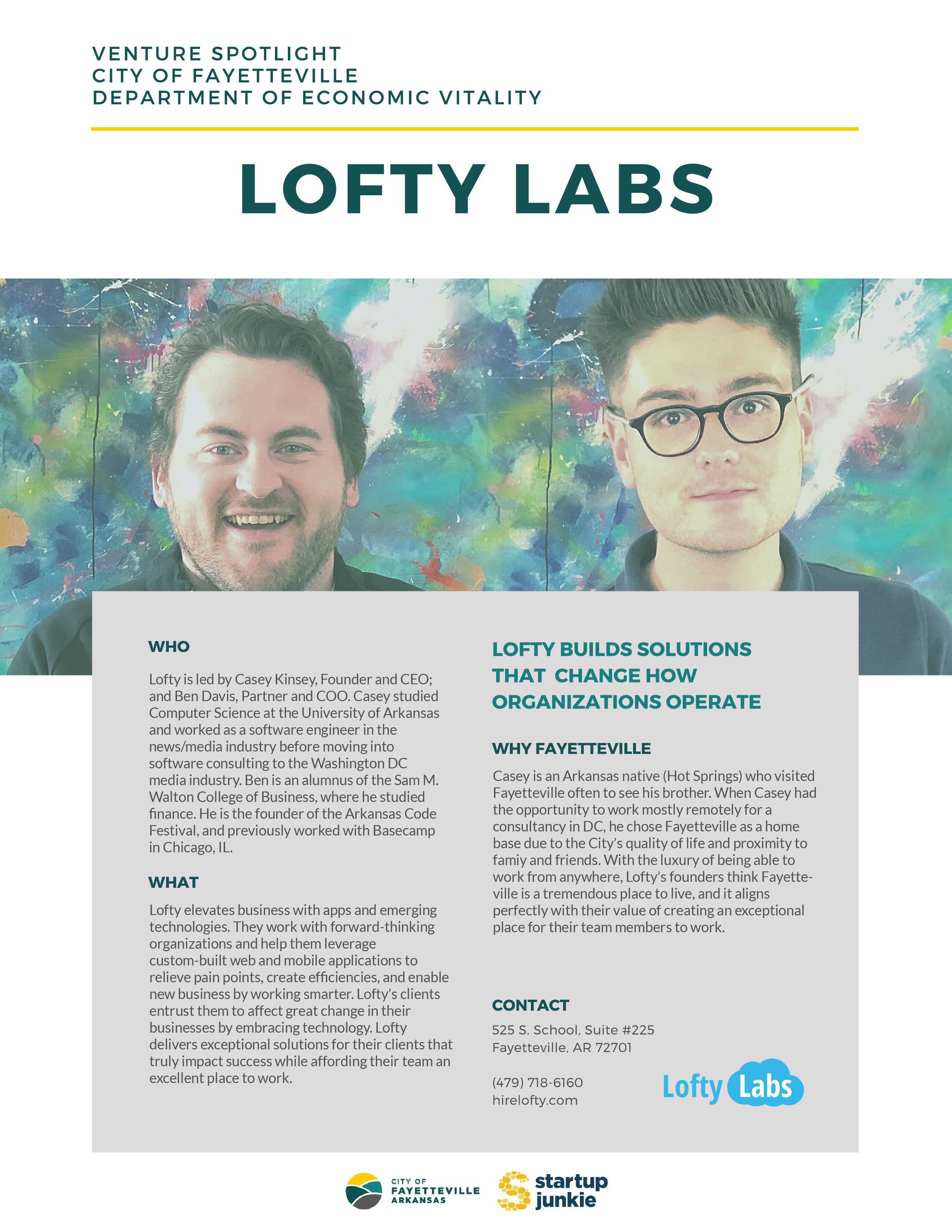 Lofty Labs - Venture Spotlight