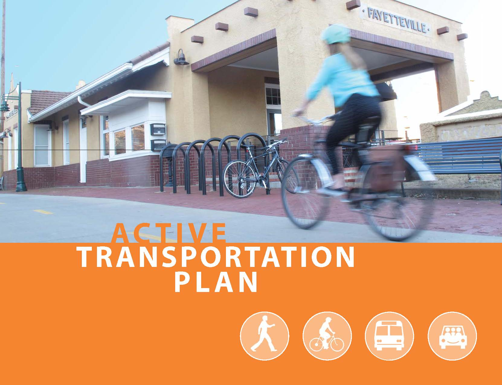 Cover image of the Active Transportation Plan